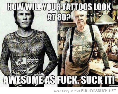 Tattoos At 80