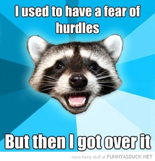 Fear Of Hurdles