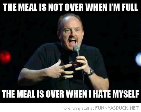 The Meal Is Not Over...