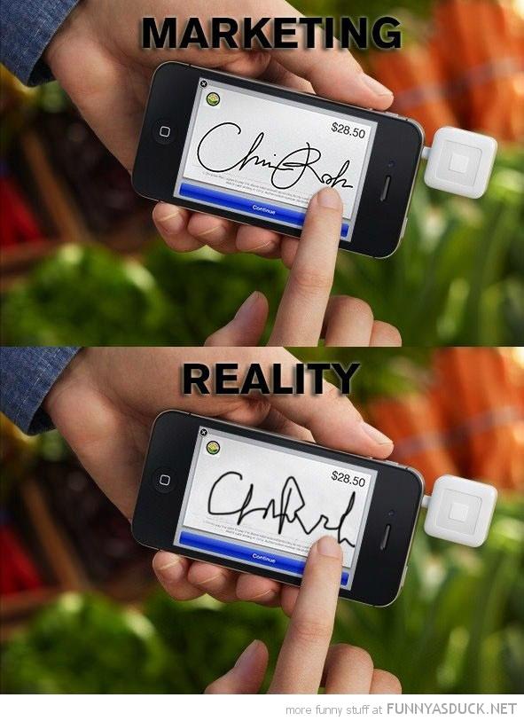 Marketing Vs Reality