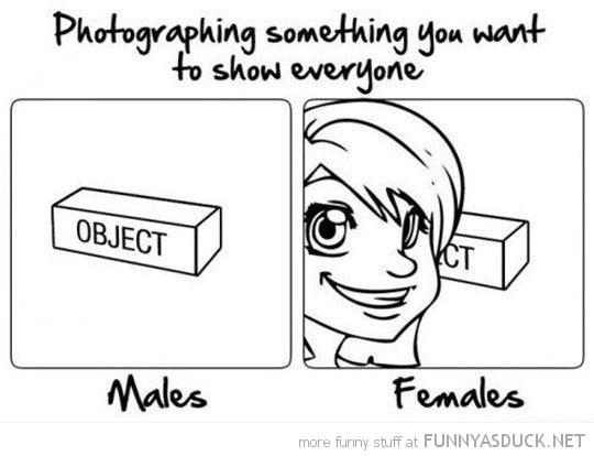 Photographing Something