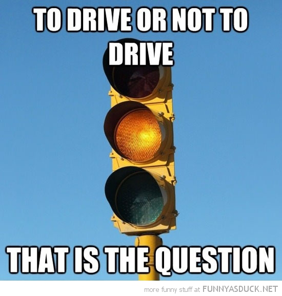 To Drive Or Not To Drive