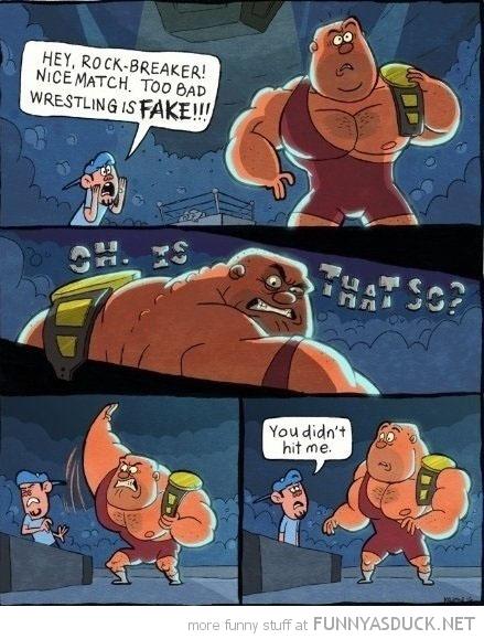 Wrestling Is Fake