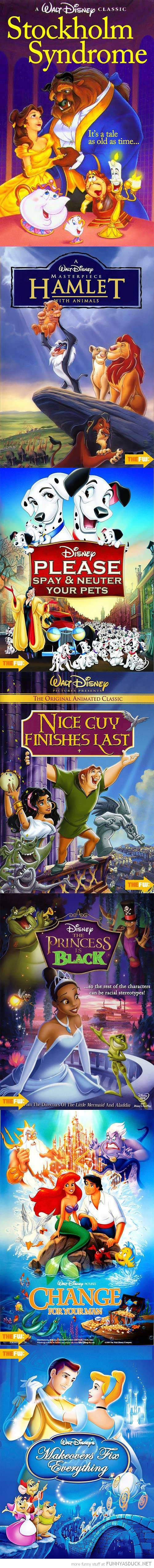 If Disney Movie Titles Were Accurate