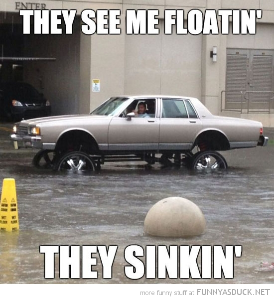 They See Me Floatin'