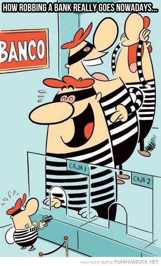 Robbing A Bank