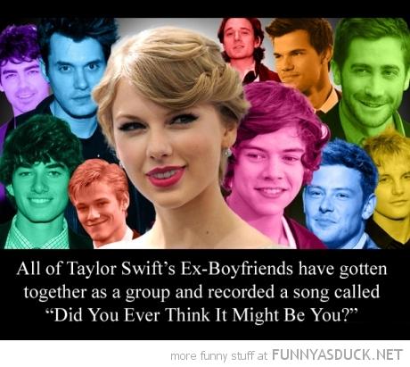 Taylor's Ex-Boyfriends