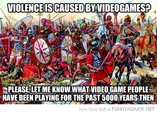 Violence Is Caused By Video Games?