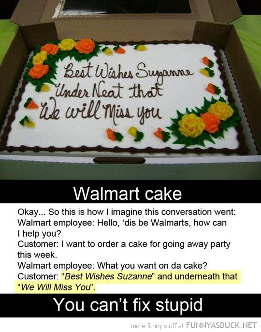Walmart Fail Cake