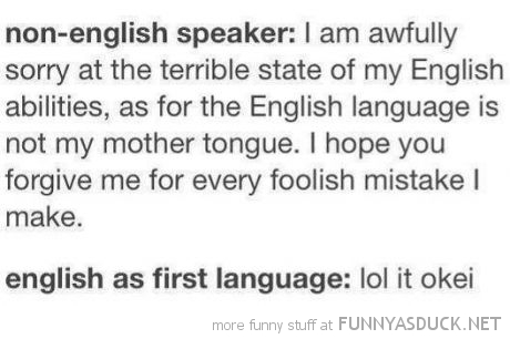 English Speaker