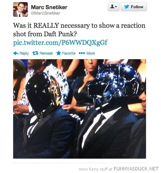 Daft Punk's Reaction