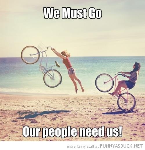 We Must Go