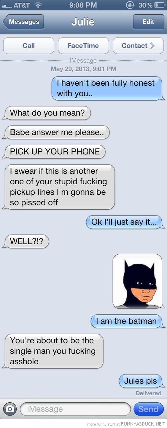 I'm The Batman