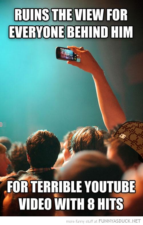 Scumbag Concert Goer