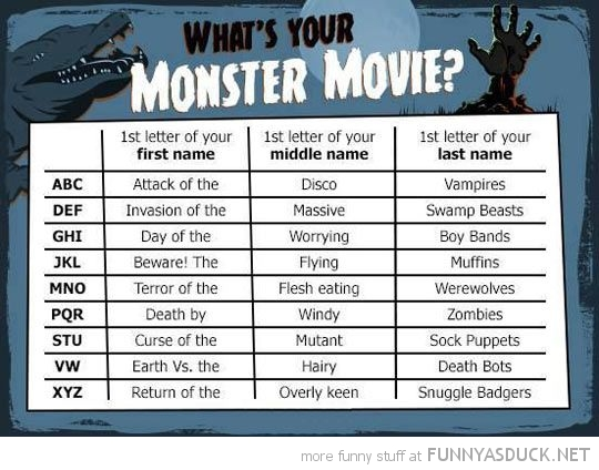 Your Monster Movie