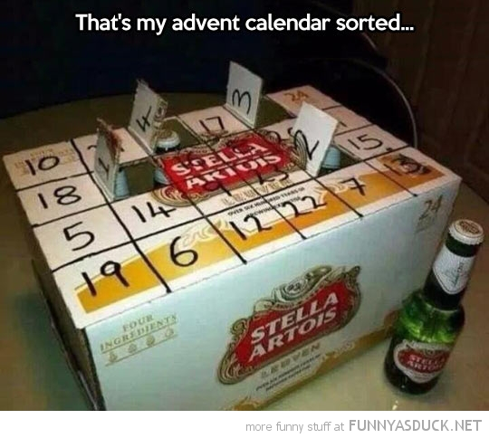 Advent Calender Sorted