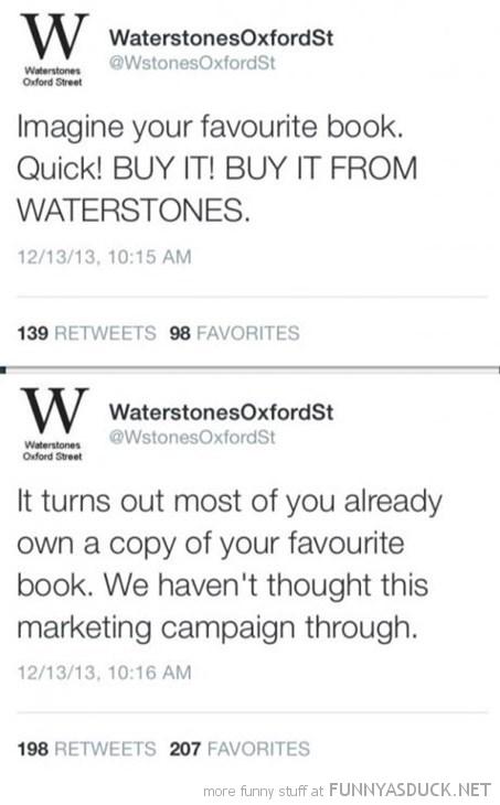 Waterstones Twitter