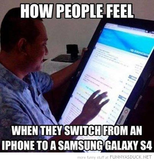 Switching From An iPhone