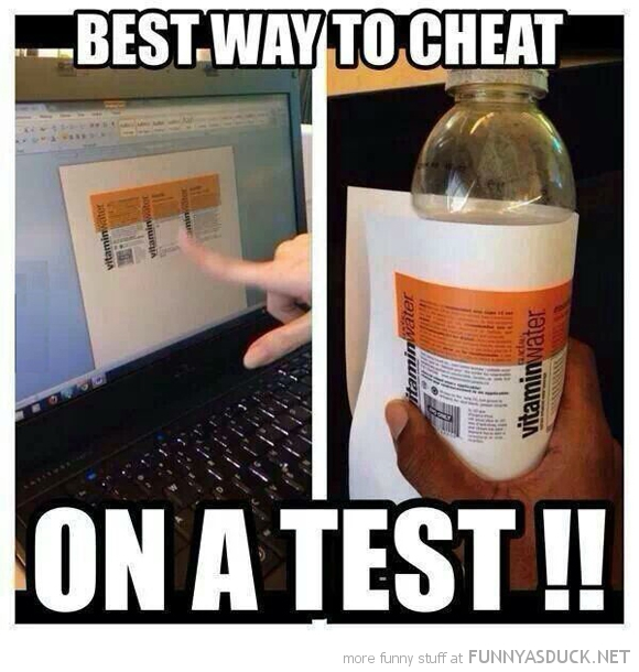 Cheat On A Test