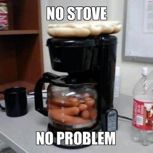 No Stove