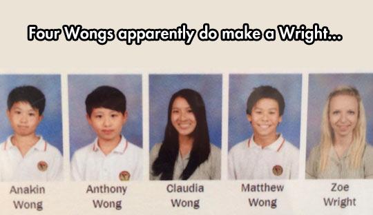 4 Wongs