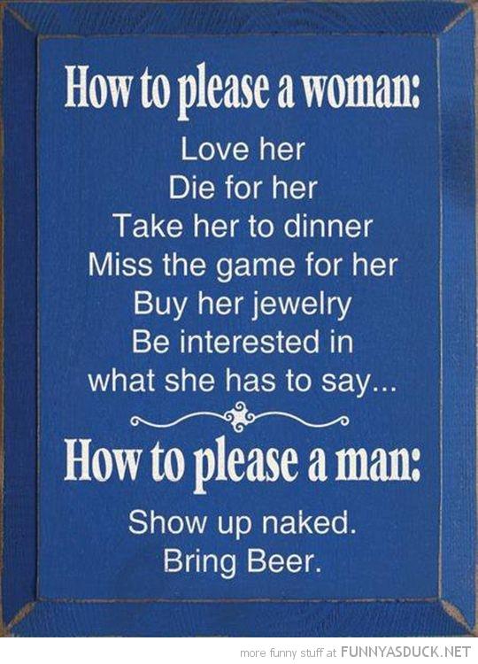 Please A Woman