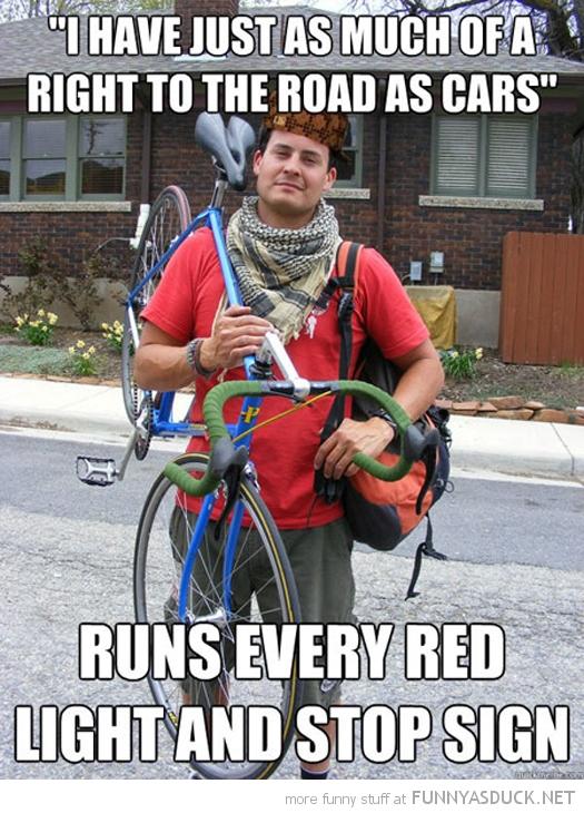 Scumbag Cyclist
