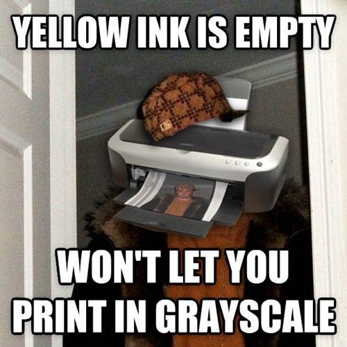 Yellow Ink