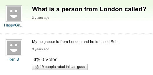 A Person From London