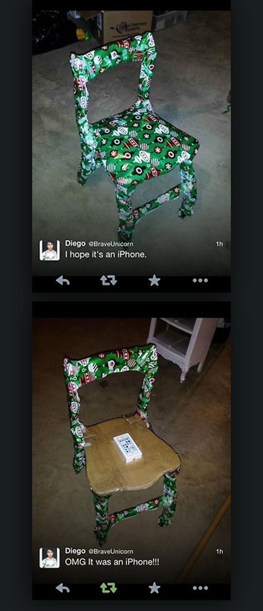 Hope It's An iPhone
