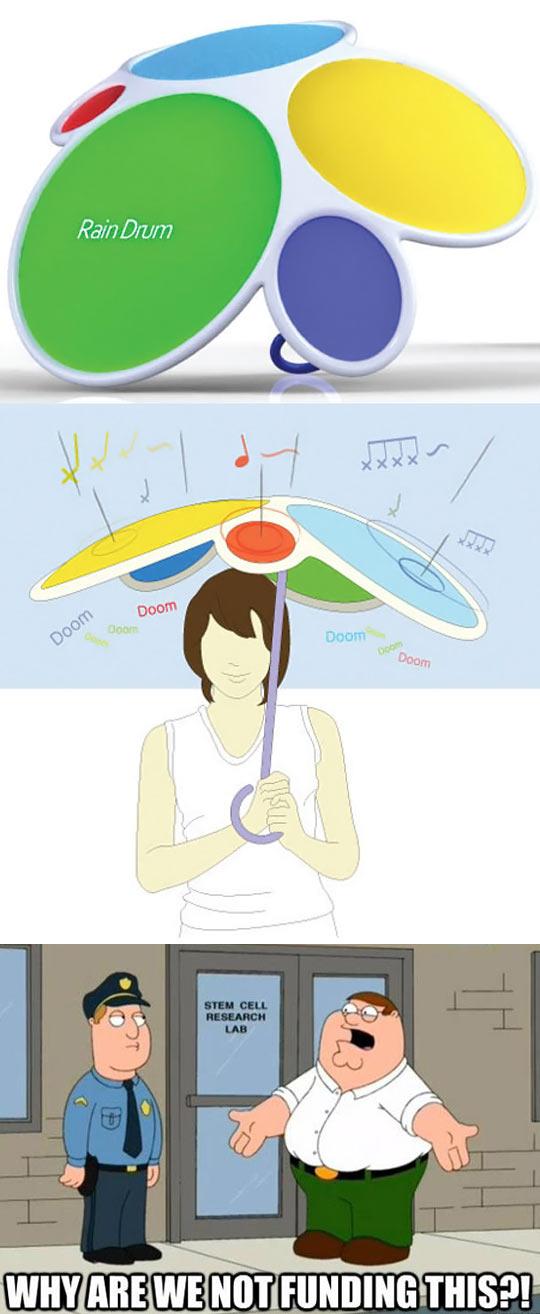 Drum Umbrella
