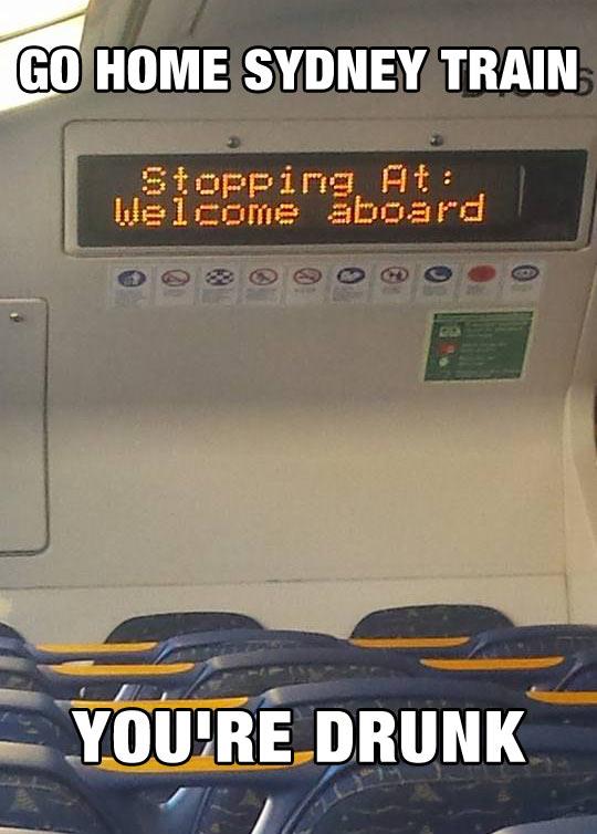 Go Home Train