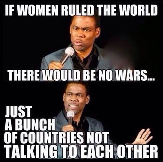 If Woman Ruled The World