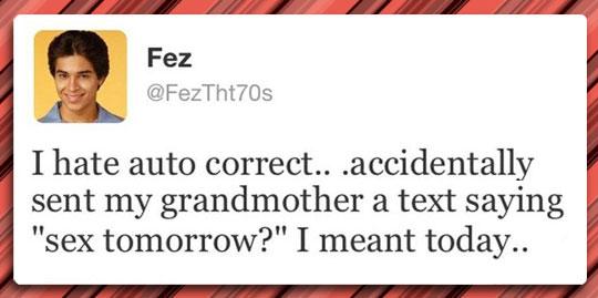 I Hate Auto Correct