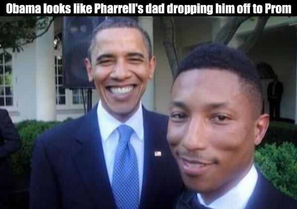 Dropping Off Pharrell
