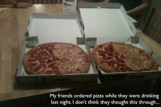 Ordering Pizza Drunk