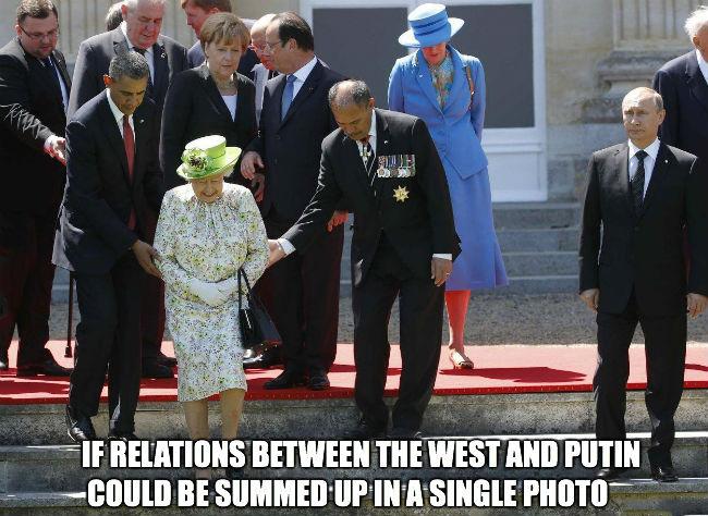 The West & Putin