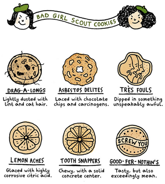 Bad Girl Scout Cookies