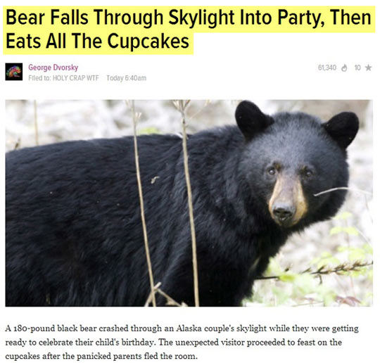 Greatest Headline Ever?