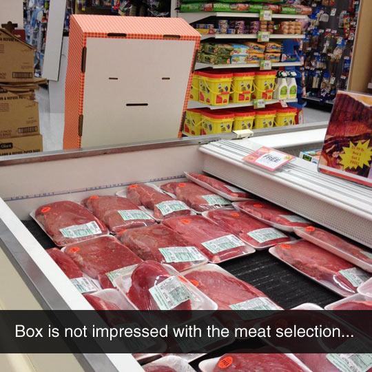 Unimpressed Box