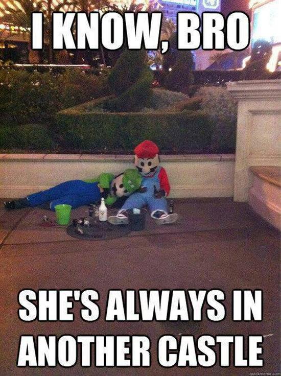 Poor Mario Bros.