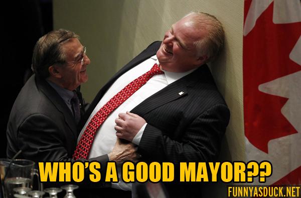 Who's A Good Mayor?