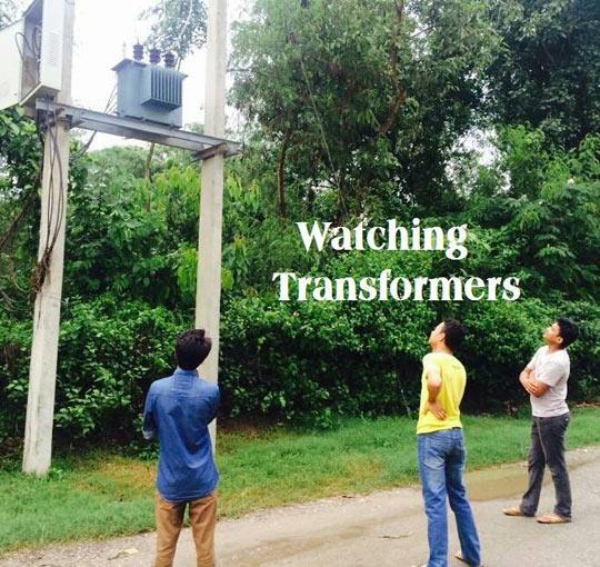 Watching Transformers
