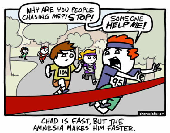 Chad Is Fast