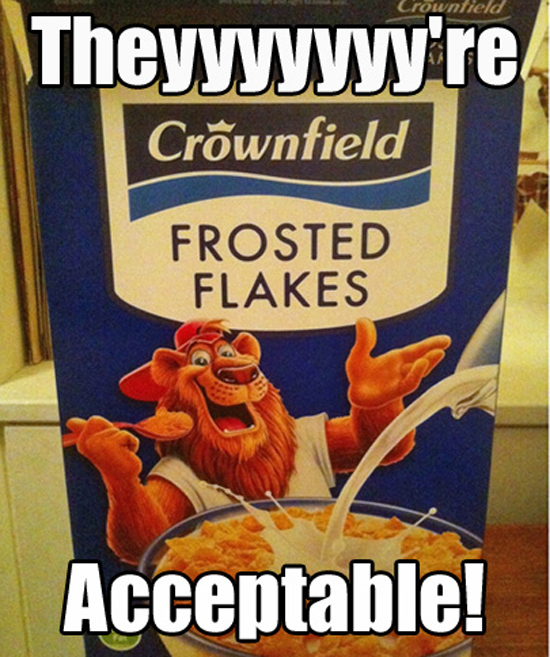 Knock Off Cereal