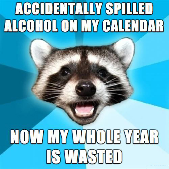 Whole Year Wasted