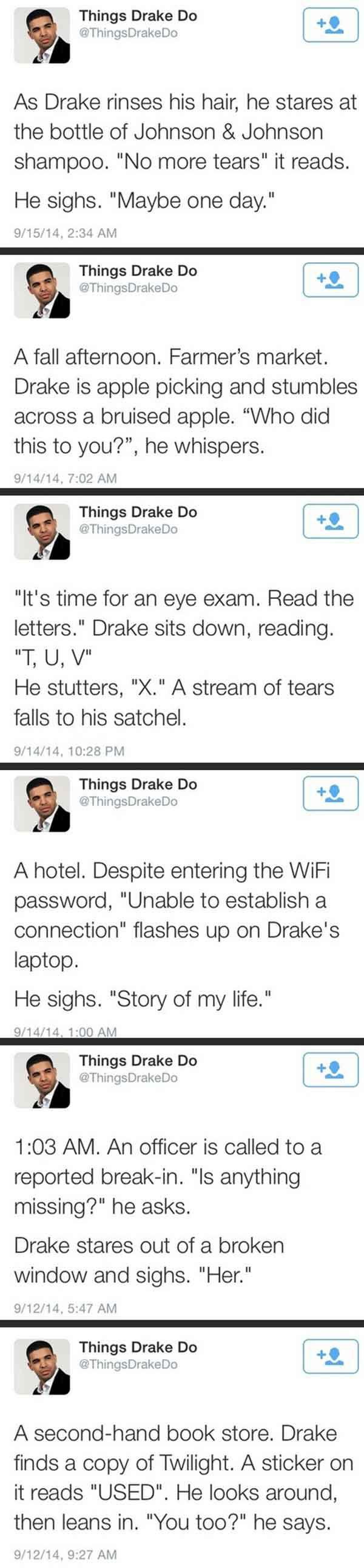 Things Drake Do