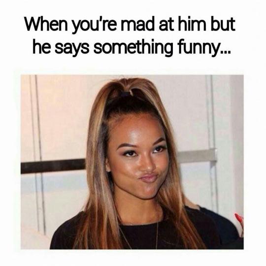 Says Something Funny