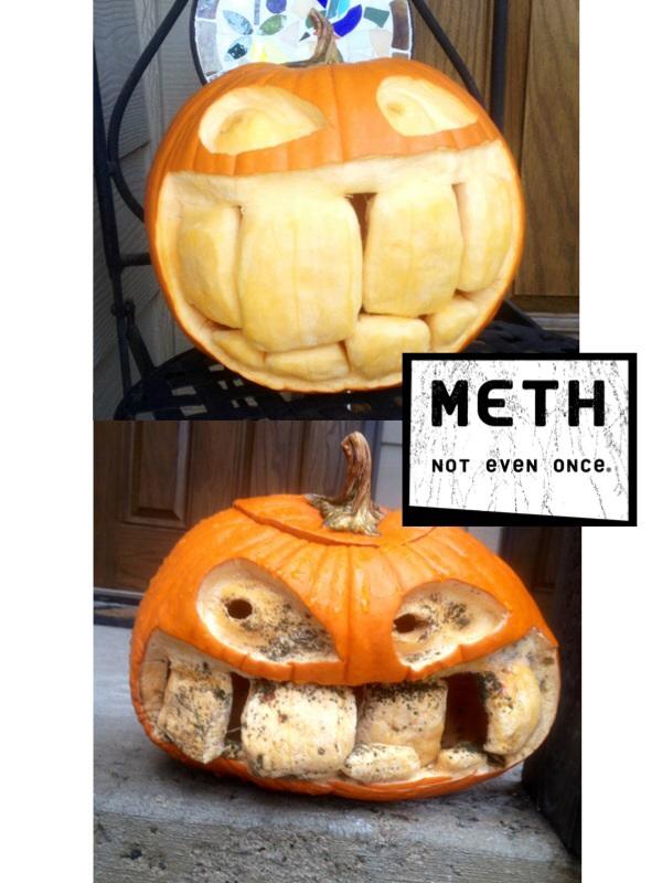 Pumpkin Meth Head