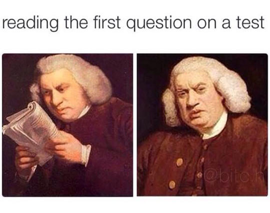 The First Question